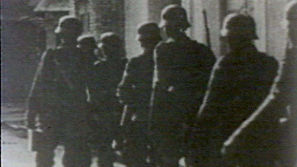Οι Γερμανοί στην Αθήνα – 27 Απριλίου 1941