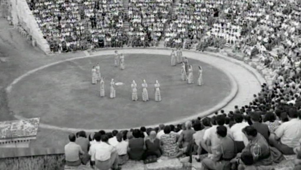 Ο «Ιππόλυτος» στην Επίδαυρο – 11 Ιουλίου 1954