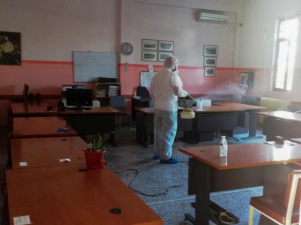 'Εκτακτα μέτρα κατά της διασποράς του κορονοϊού στα Τρίκαλα