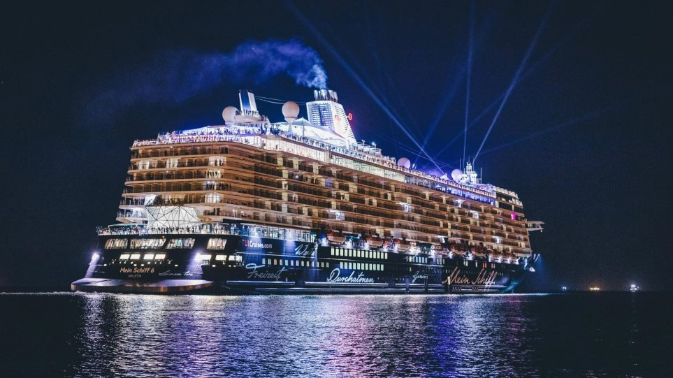 Τι λέει η TUI για τα κρούσματα στο κρουαζιερόπλοιο «Mein Schiff 6»