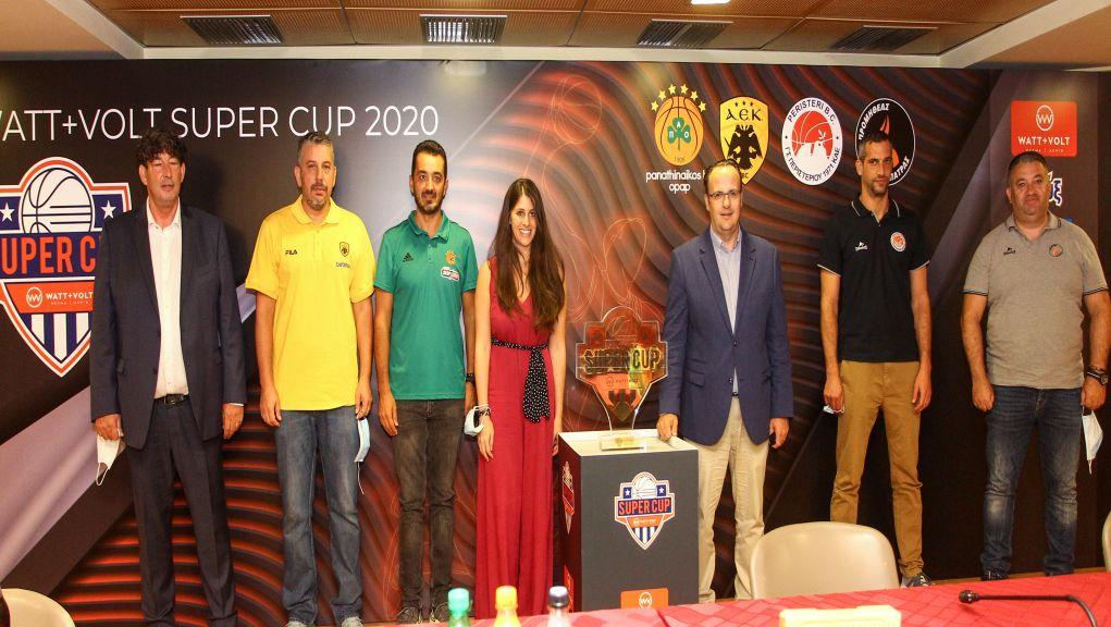 ΕΣΑΚΕ: «Διψασμένοι» για δράση δήλωσαν οι πρωταγωνιστές του 1oυ Super Cup