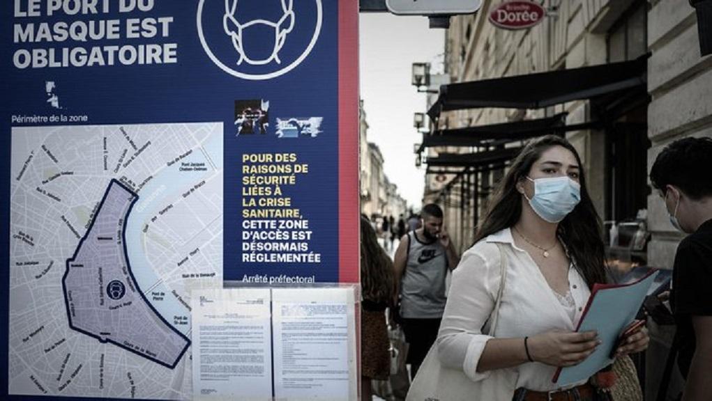 Γαλλία: «Ανατριχιαστικό ρεκόρ» τα 16.096 νέα κρούσματα σε διάστημα 24 ωρών