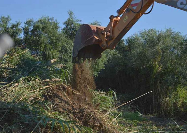 Συνεχίζονται οι αντιπλημμυρικές παρεμβάσεις και οι καθαρισμοί σε επικίνδυνα σημεία της Μεσσηνίας