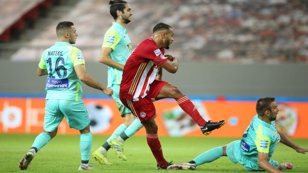Με χατ τρικ του Ελ Αραμπί ο Ολυμπιακός σάρωσε στο β' μέρος με 4-0 τον Ατρόμητο