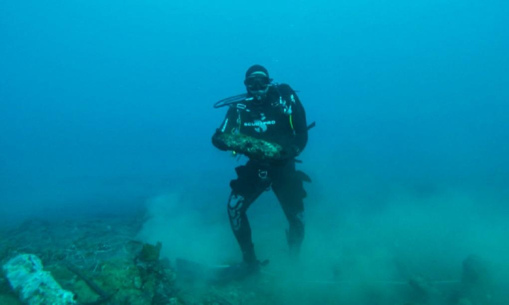 Εξουδετέρωση ναρκών στη Μονεμβασιά από το Πολεμικό Ναυτικό (video)