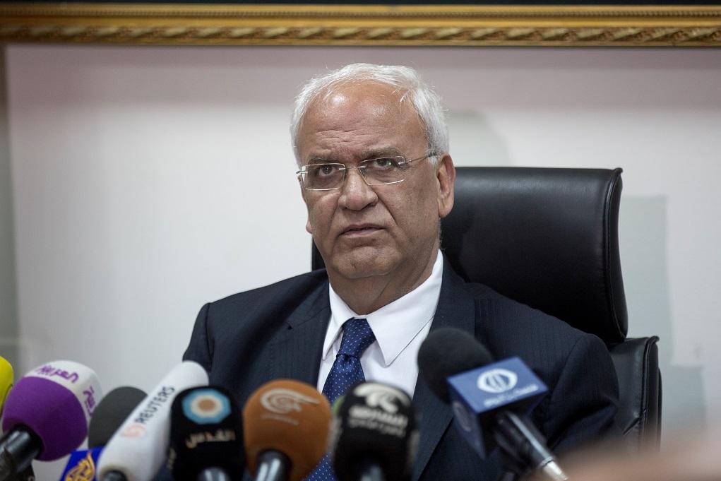 Σε ισραηλινό νοσοκομείο ο επικεφαλής διαπραγματευτής των Παλαιστινίων με κορονοϊό