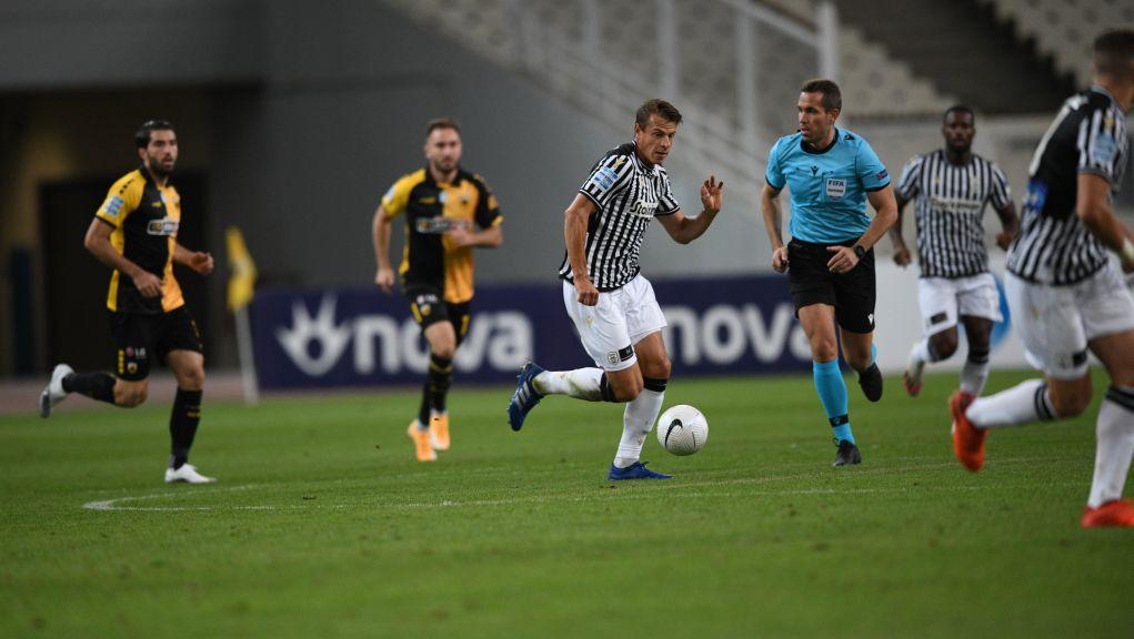 Ισόπαλο το πρώτο ντέρμπι της σεζόν ΑΕΚ-ΠΑΟΚ 1-1