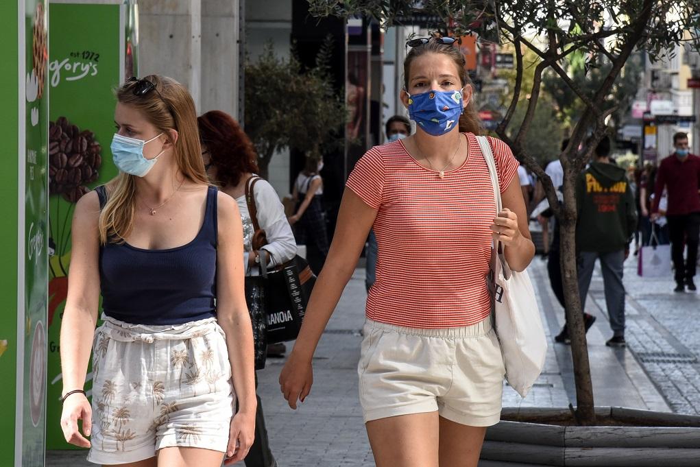 Επέλαση του κορονοϊού: Πόσο εύκολα μεταδίδεται χωρίς μάσκα (video)