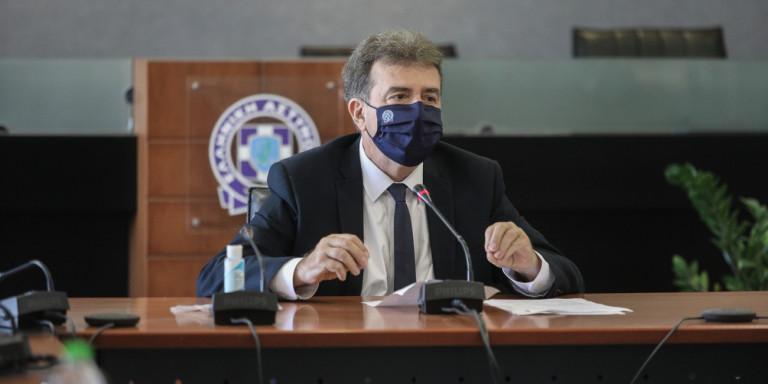 Μ. Χρυσοχοίδης: «Η ΕΛ.ΑΣ είναι πανταxού παρούσα για την αντιμετώπιση του COVID» ( video)