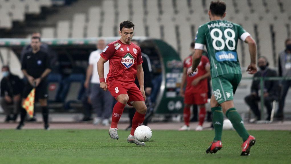 Ισοπαλία 1-1 παραχώρησε ο Παναθηναϊκός στο Βόλο στο ντεμπούτο του Μπόλονι και στις επιστροφές Μολό-Νίνη