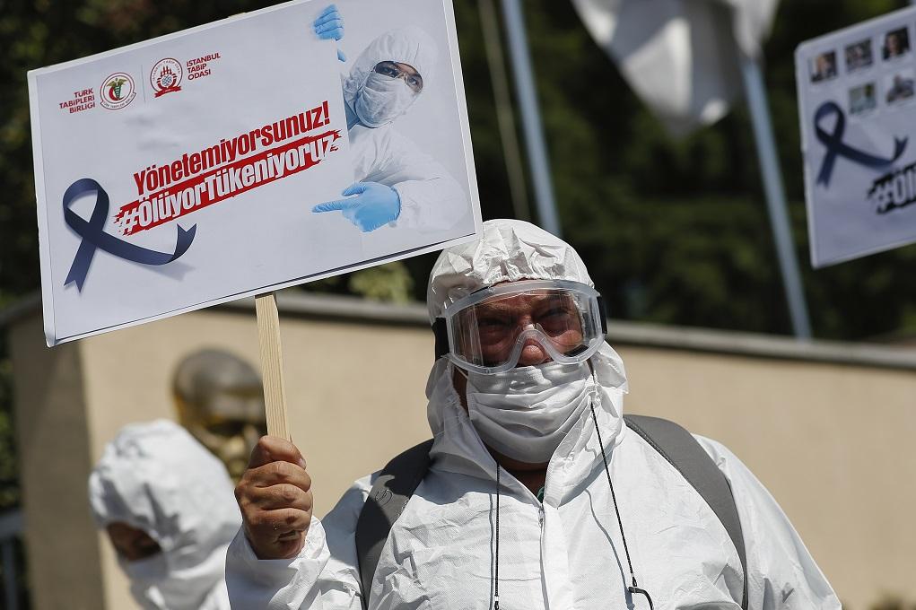 Γερμανία: Μέτρα κατά της Τουρκίας – «Δεν καταγράφει τους ασυμπτωματικούς ασθενείς του κορονοϊού»