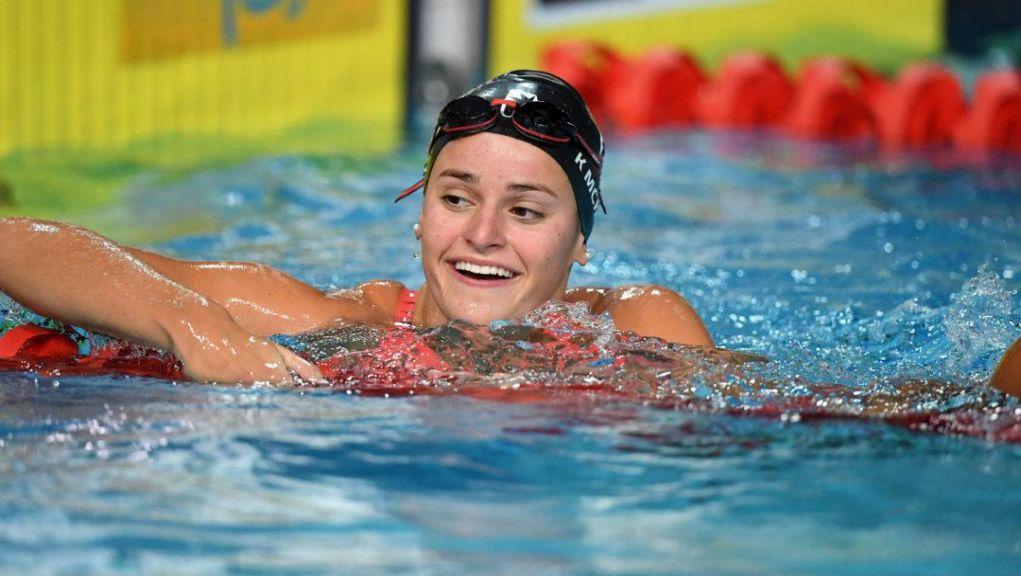 Η Κέιλι ΜακΚίοουν παγκόσμιο ρεκόρ στα 200μ. ύπτιο σε 25άρα πισίνα