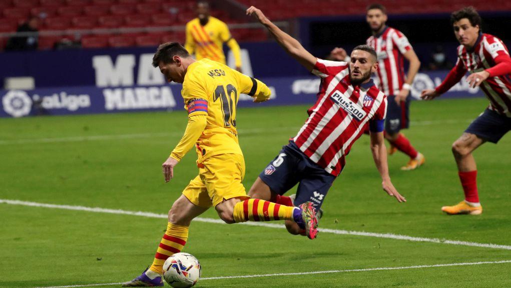 Η Ατλέτικο πήρε με 1-0 το ντέρμπι με την Μπαρτσελόνα (δείτε τα highlights)
