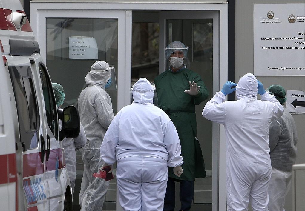 Β. Μακεδονία: Μακάβριο ρεκόρ θανάτων από κορονοϊό το τελευταίο 24ωρο