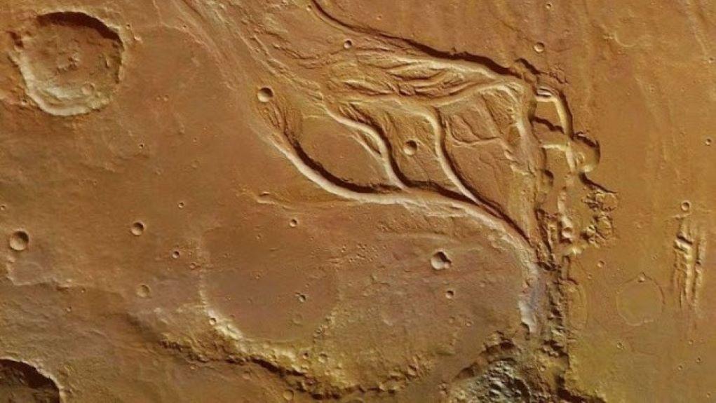 Ηφαιστειακή έκρηξη πριν 53.000 χρόνια στον Άρη και πλημμύρα με θεόρατα κύματα