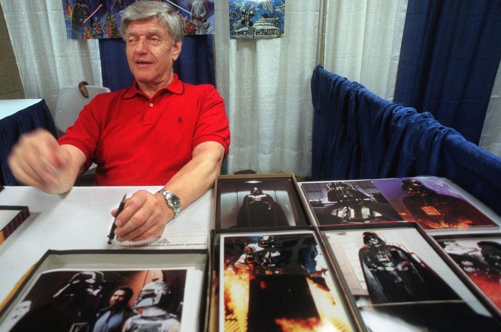 Πέθανε σε ηλικία 85 ετών ο ηθοποιός Ντέιβιντ Πράουζ που ενσάρκωσε τον «Darth Vader»