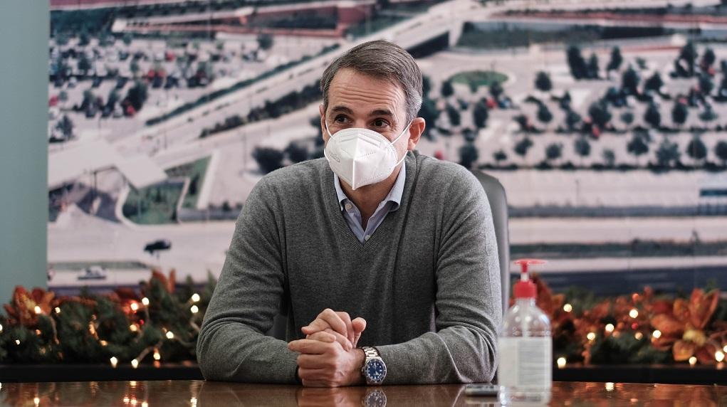 Μητσοτάκης: Ενδείξεις μείωσης του ιικού φορτίου στη Β. Ελλάδα – Θα κάνουμε διαφορετικά Χριστούγεννα φέτος