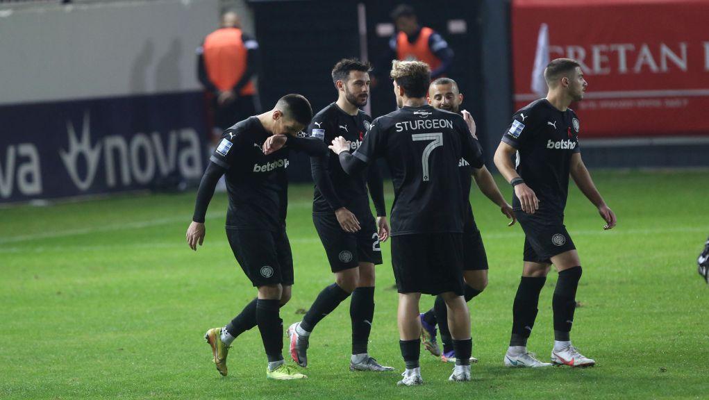 Δεύτερη σερί νίκη για τον ΟΦΗ 2-1 τον ΠΑΣ Γιάννινα (video)