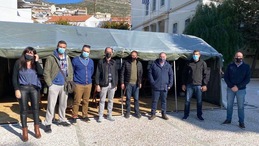 Σάμος: Ενημερώθηκαν για την αντισεισμική θωράκιση των κτιρίων συνάθροισης