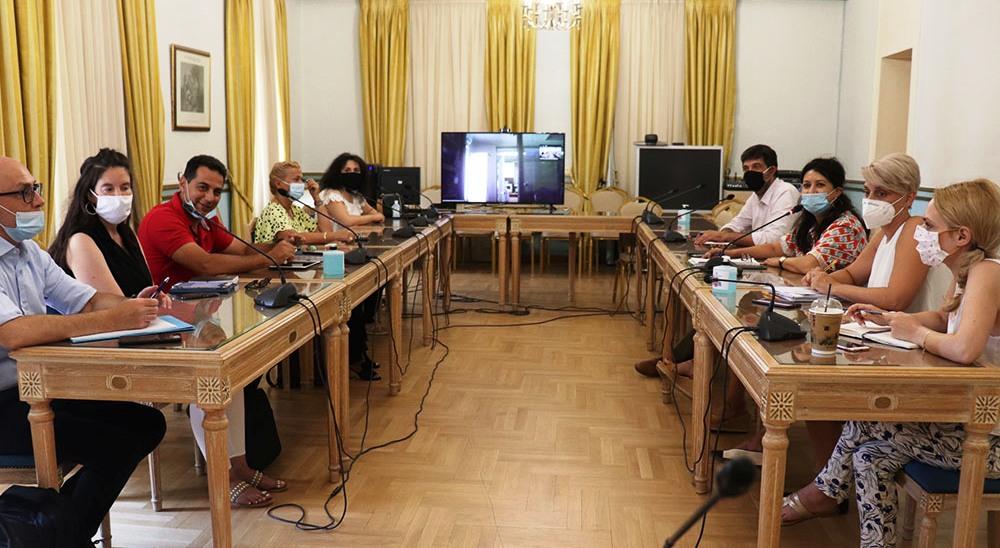 Σύσκεψη για το πρόγραμμα τουριστικής προβολής της Περιφέρειας Πελοποννήσου