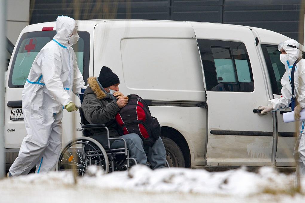 Covid-19: 19.032 νέα κρούσματα και 512 θάνατοι στη Ρωσία