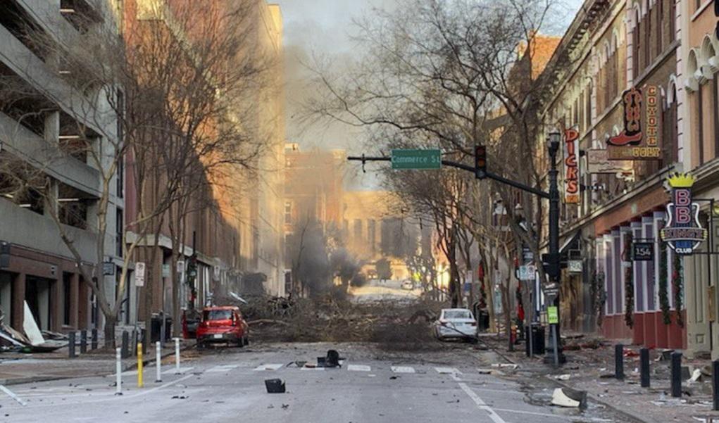 ΗΠΑ: Συνεχίζονται οι έρευνες για την έκρηξη στο Νάσβιλ