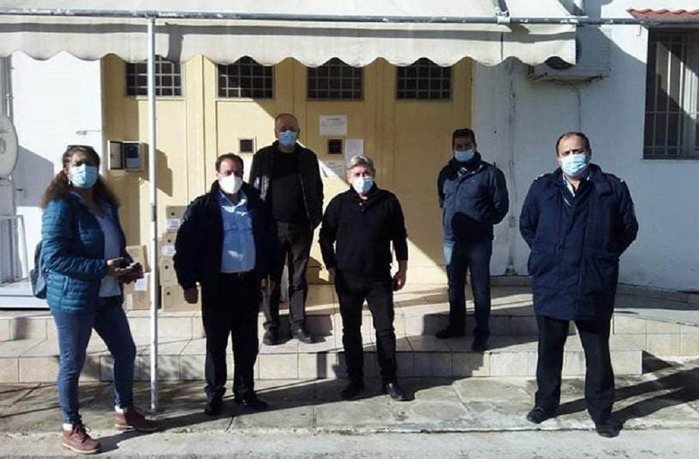 Τρόφιμα στις φυλακές Σταυρακίου από ΣΥΡΙΖΑ και «Αλληλεγγύη για όλους»
