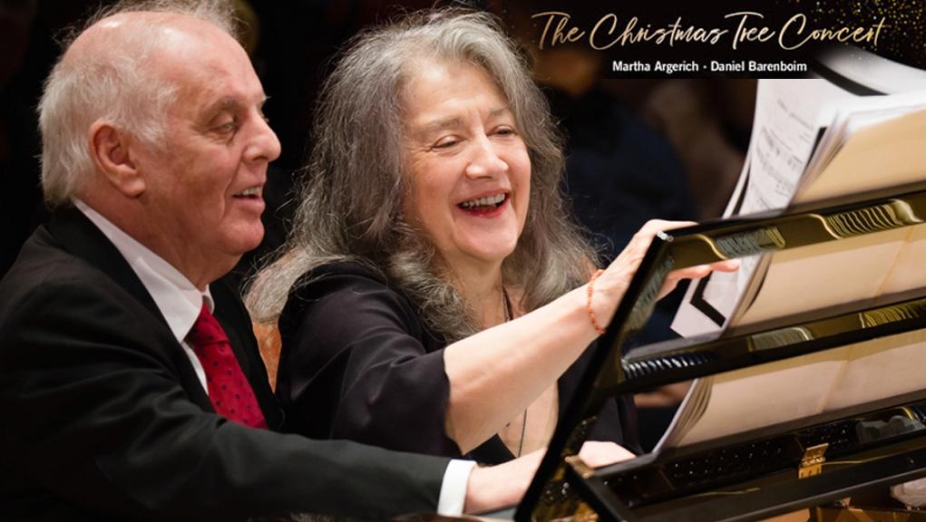 ΕΡΤ3 – Χριστουγεννιάτικο κοντσέρτο με τη Μάρτα Άργκεριχ & Ντάνιελ Μπαρενμπόϊμ (Α' Τηλεοπτική Μετάδοση) – Μουσική Συναυλία