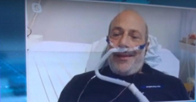 Ηχηρό μήνυμα του καθ. καρδιολογίας Β. Βασιλικού μέσα από το νοσοκομείο: Πρέπει να φοβόμαστε περισσότερο (video)
