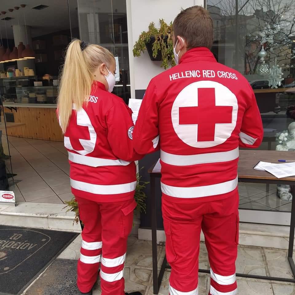 Κομοτηνή: Χιλιάδες ώρες προσφοράς από τους εθελοντές του Ερυθρού Σταυρού