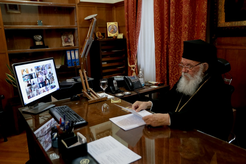 Τηλεδιάσκεψη της Ιεράς Συνόδου για Θεοφάνεια και αυστηρότερα μέτρα
