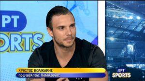 Ξεκίνησε με μετάλλιο στο Παγκόσμιο Κύπελλο ο Χρήστος Βολικάκης
