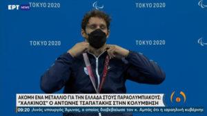 Τσαπατάκης: «Θεωρώ τον εαυτό μου νικητή, μόνο από την προσπάθεια που έκανε να φτάσει ως εδώ» (video)