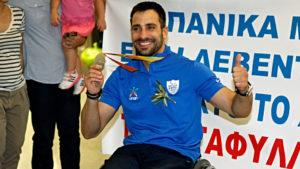 Χάλκινο μετάλλιο για τον Τριανταφύλλου, πρώτη ελληνική διάκριση στους Παραολυμπιακούς Αγώνες του Τόκιο!