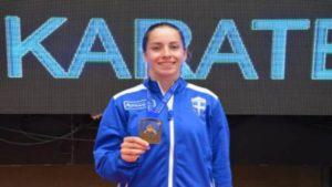 Ευρωπαϊκό Πρωτάθλημα Νεανίδων: Χάλκινη η Στελίνα Τζίλια στο καράτε