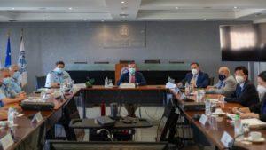 Ευρεία σύσκεψη στο υπουργείο Προστασίας του Πολίτη για την αφή της Φλόγας των Χειμερινών Ολυμπιακών Αγώνων